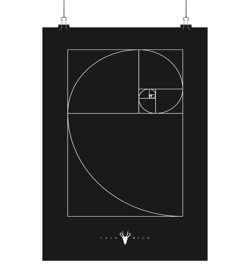 Fibonacci Din-A-2 Poster