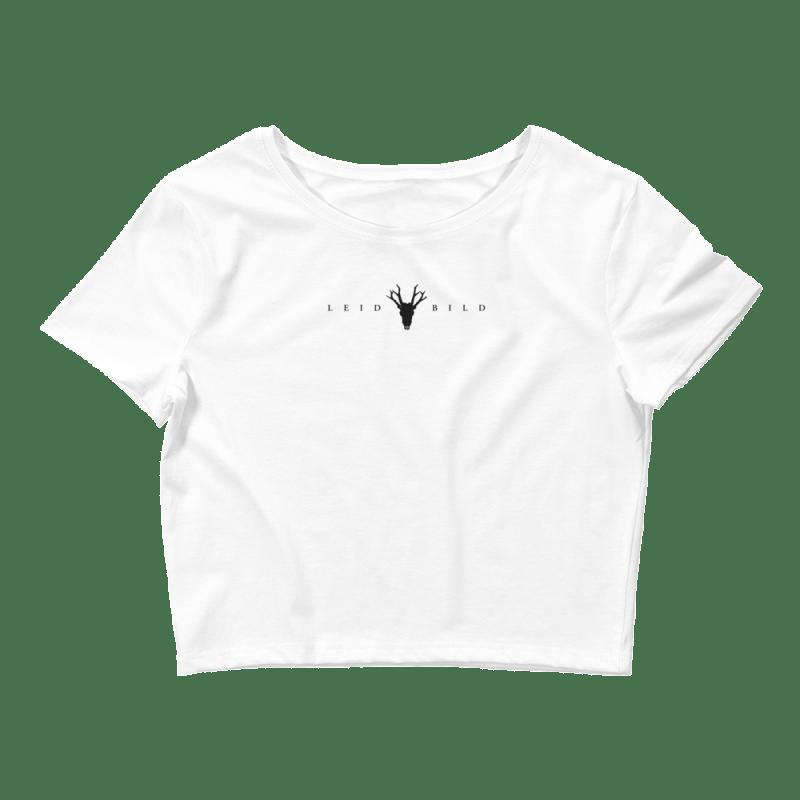 White Leidbild Crop-Top