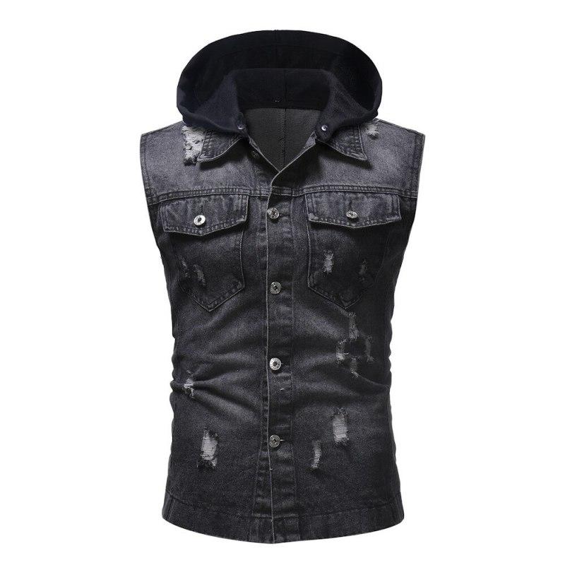 Black Jeans vest