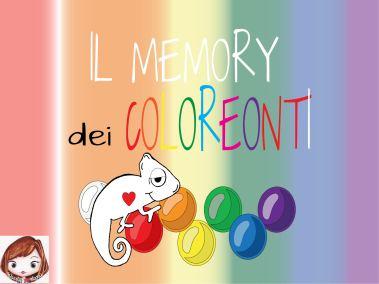 Gioco interattivo:Coloreonti memory
