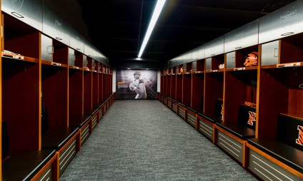 Princeton Football locker room