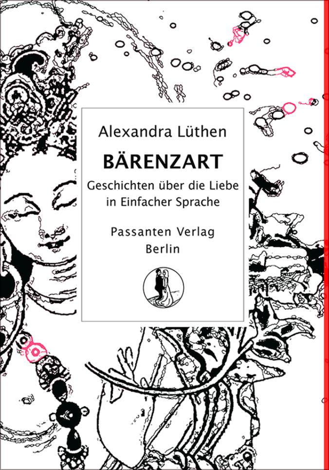 Das Bild zeigt das Cover des Buches Bärenzart. Es zeigt den Titel in einem Schriftzug und eine weibliche Märchenfigur mit geschlossenen Augen.