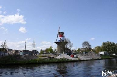 Molen De Valk met vlag (7)