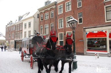 Sneeuw20dec09 (48) stadhuis en koets