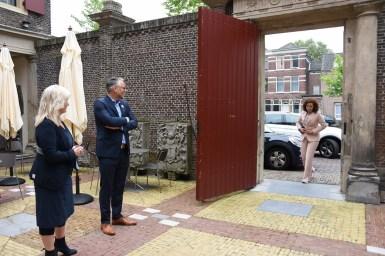 Lakenhal bezoek minister Ingrid van Engelshoven(3)
