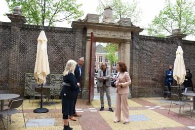 Lakenhal bezoek minister Ingrid van Engelshoven(25)