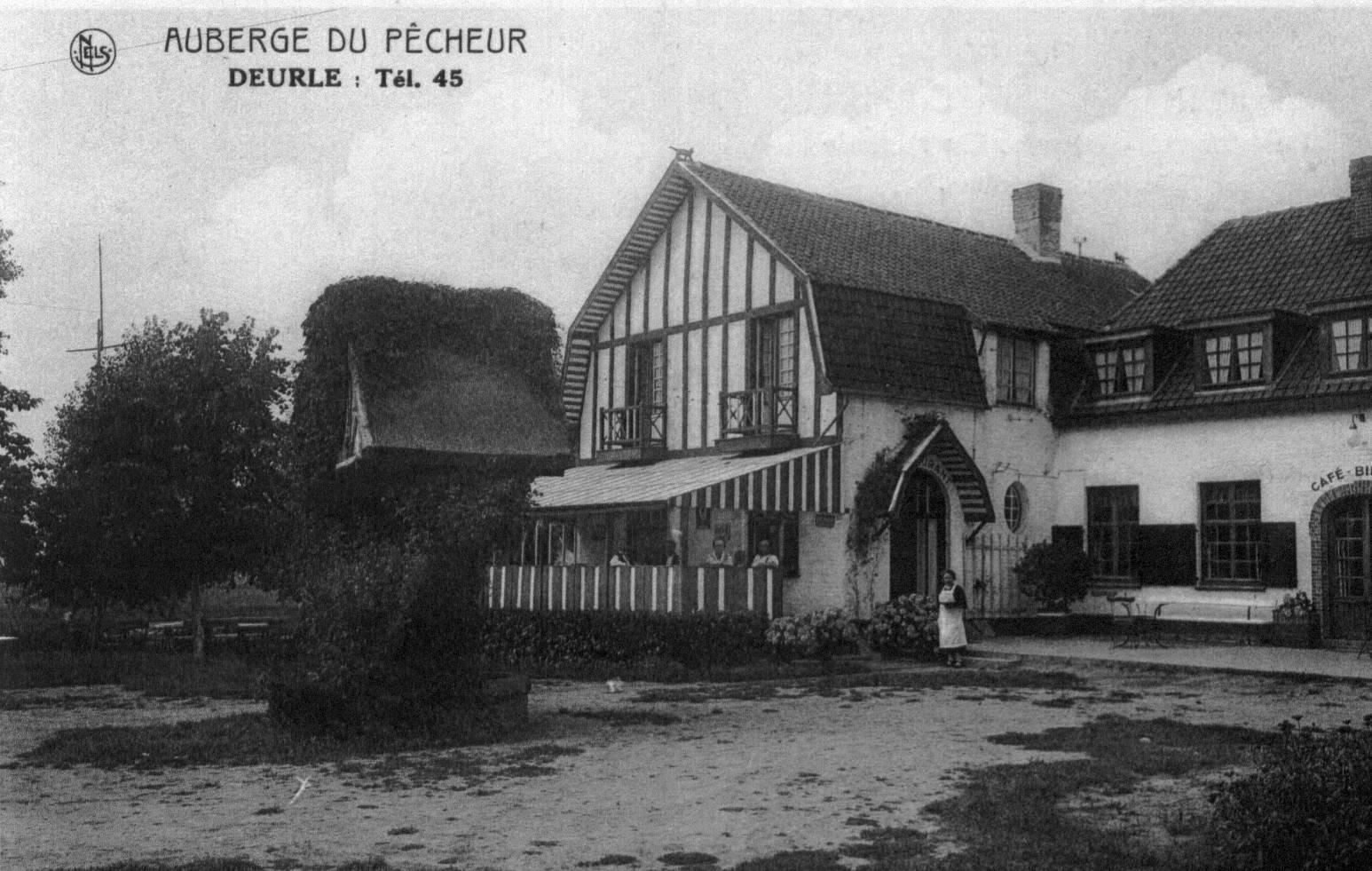 Auberge du Pêcheur in 1935