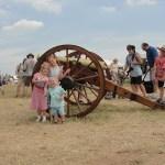 Gettysburg on Independence Weekend.
