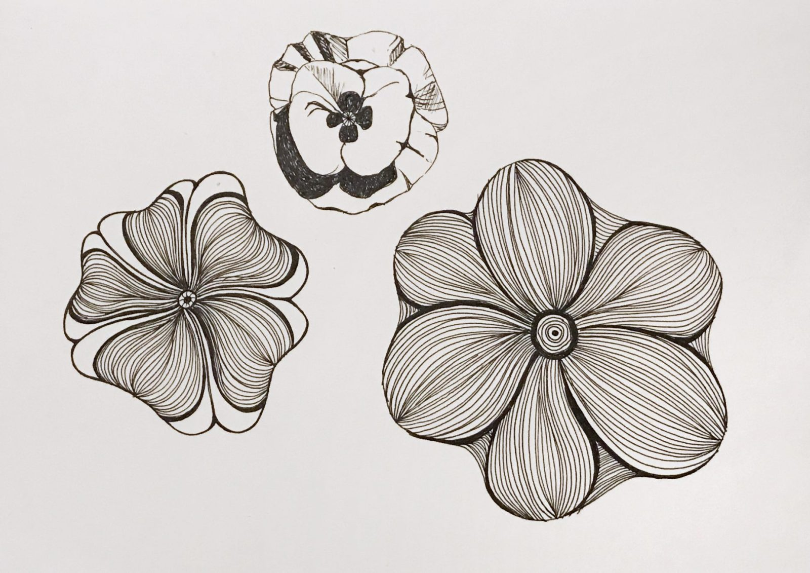 flower doodles, weekend doodles, creativity books