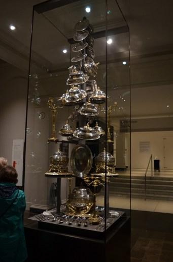 Victoria & Albert Museum Wellingtons Victory Silver Dinner Service