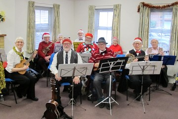 Performing for the Salvation Army Care Group