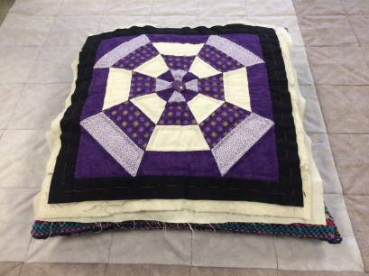 Dilys's Geometric Quilt Block