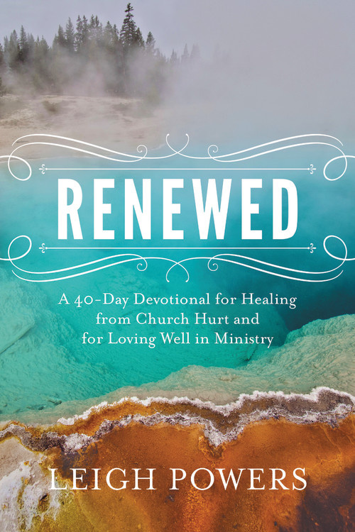 RENEWED is now available for preorder. If you have experienced the painful side of ministry and need courage to love the church again, order RENEWED today. #reneweddevo #churchhurt #devotional #ministrylife