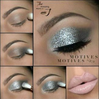 the amazing world of silver glitter