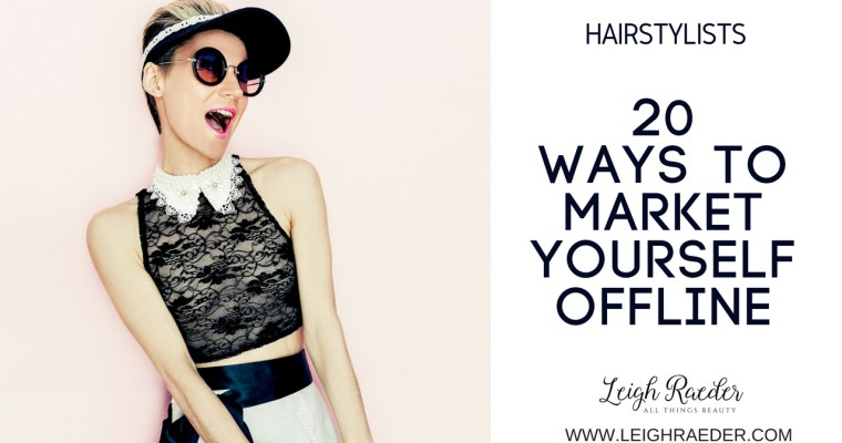 20 Ways to Market Yourself OFFLINE
