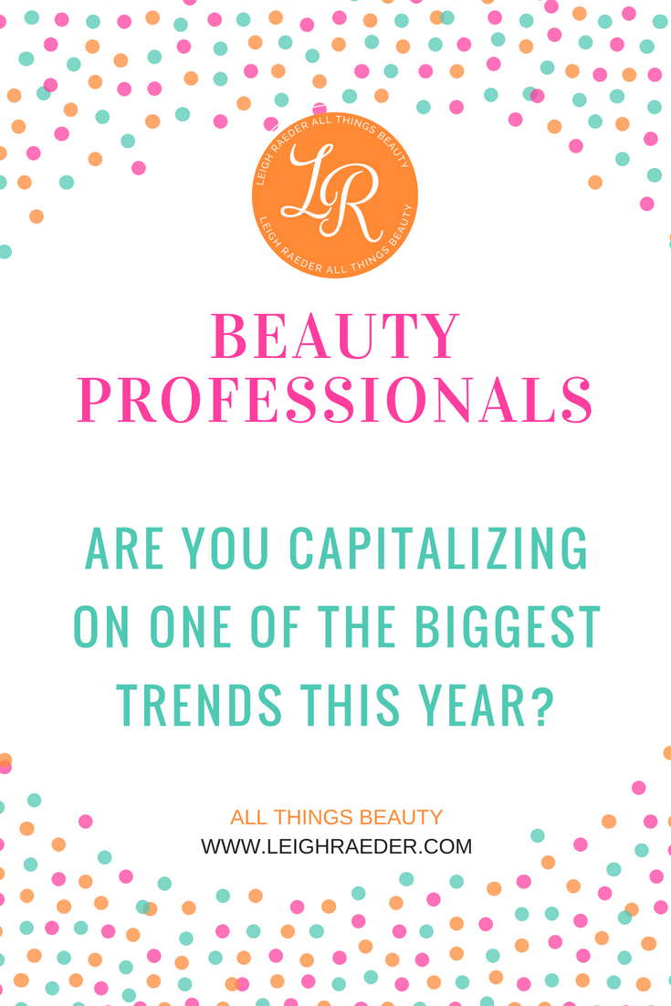 This year we have been seeing the customer taking a bigger role in the products that they use, are you capitalizing on the customized beauty trend?