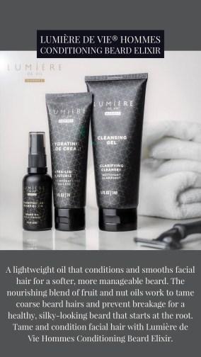 LUMIÈRE DE VIE HOMMES Conditioning Beard Elixir