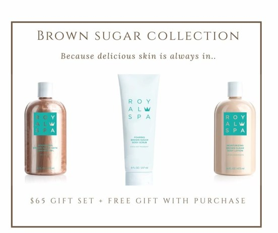 Royal Spa Brown Sugar Trio