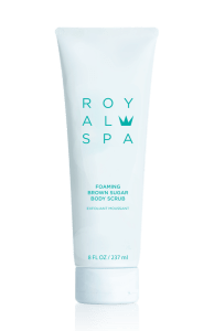Royal Spa Foaming Brown Sugar Body Scrub