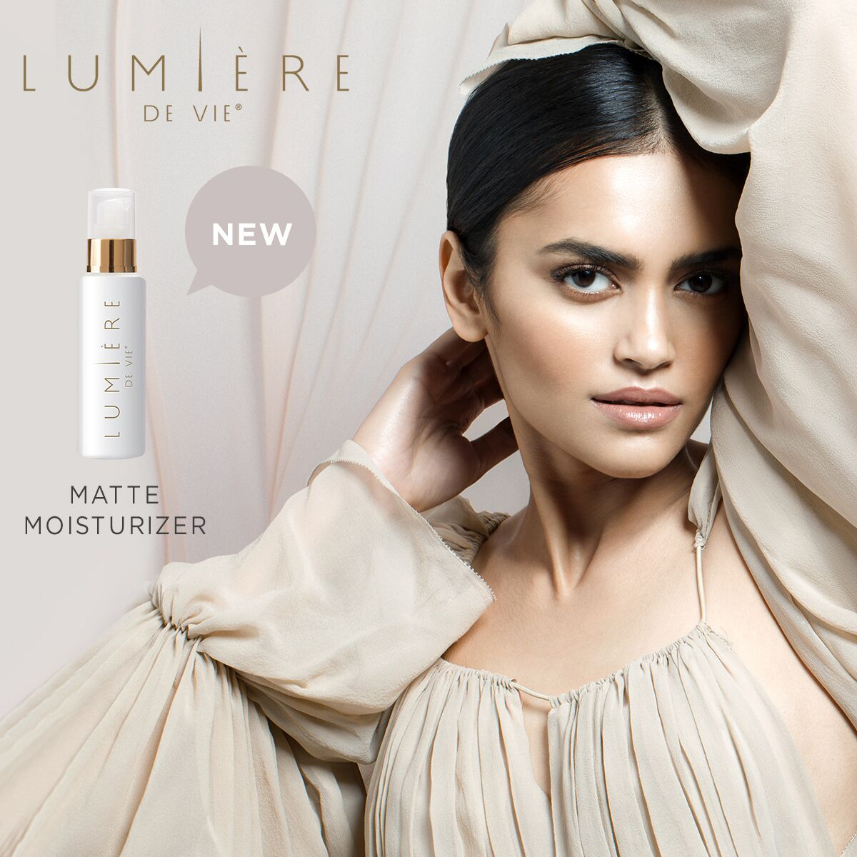 Introducing Lumiere de Vie Matte Moisturizer