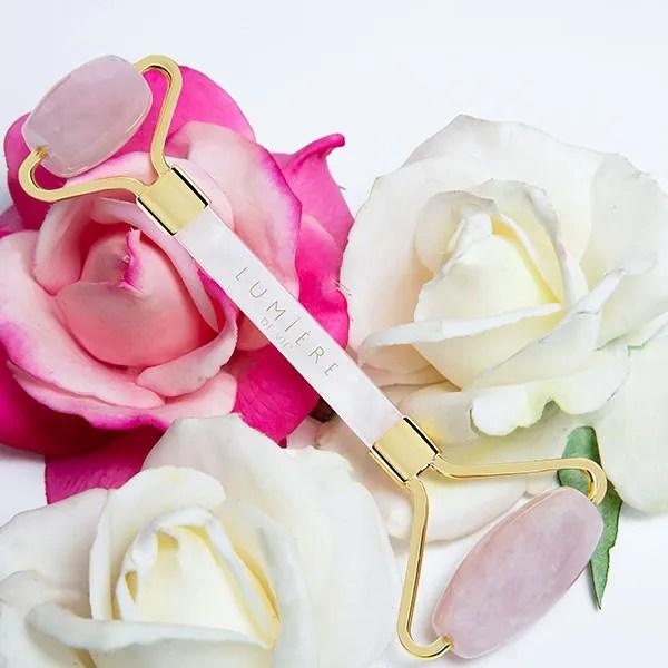 Lumiere de vie pink jade roller