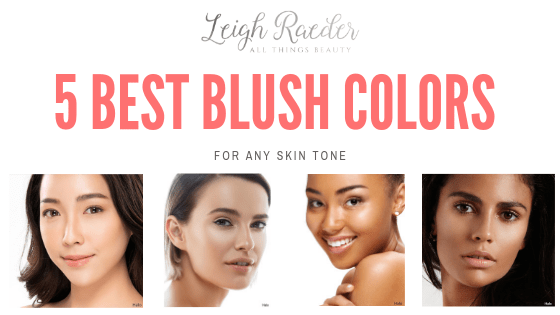 5 Best Blush Colors for Any Skin Tone