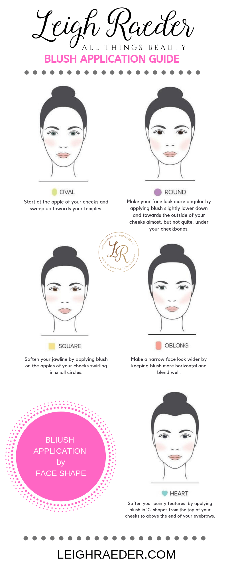 How To Apply Blush For Your Face Shape