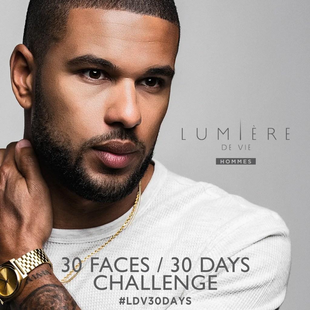 LDV Hommes skincare challenge