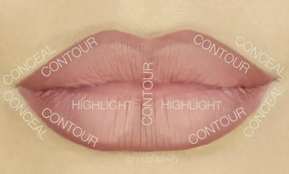Classic Lip Contour