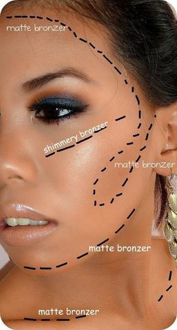 How to Apply Bronzer the correct way