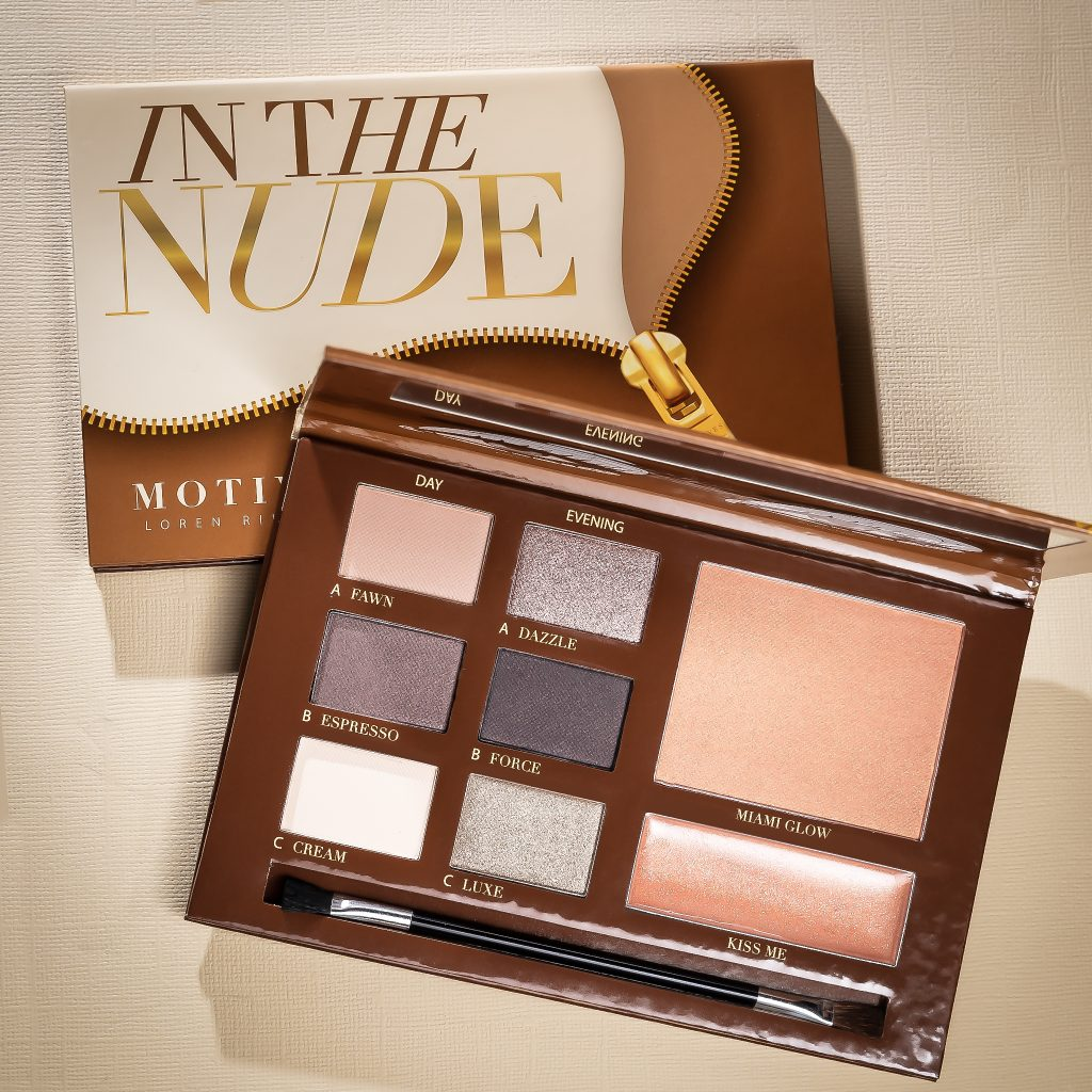 Motives In The Nude Palette Red Carpet Makeup