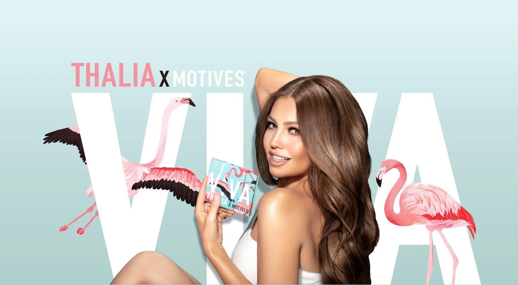 THALIA x Motives VIVA Eye & Cheek Palette-A Summer Must Have