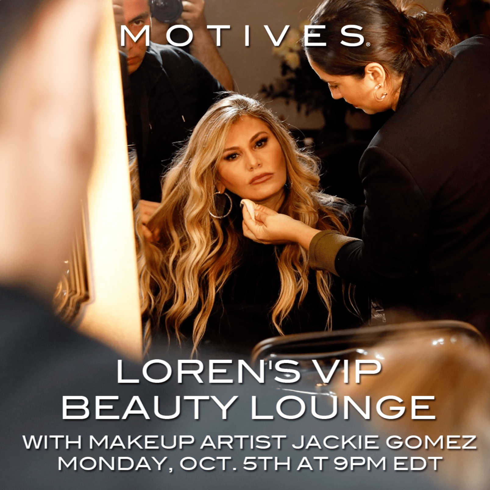 You're Invited to Loren's VIP Beauty Lounge