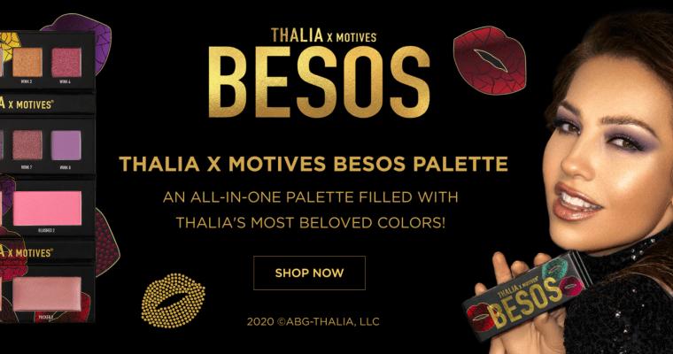 Meet The THALIA X Motives Besos Palette