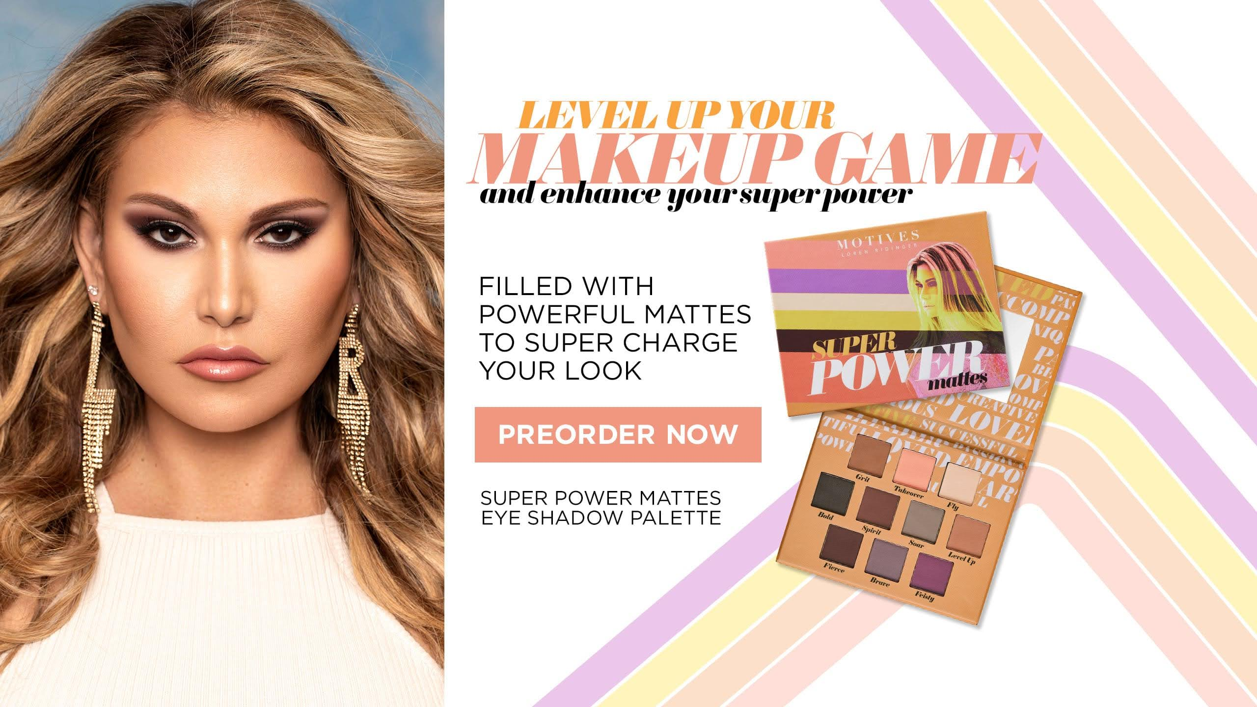 Loren Ridinger Shares The Scoop About Her New Super Power Palette