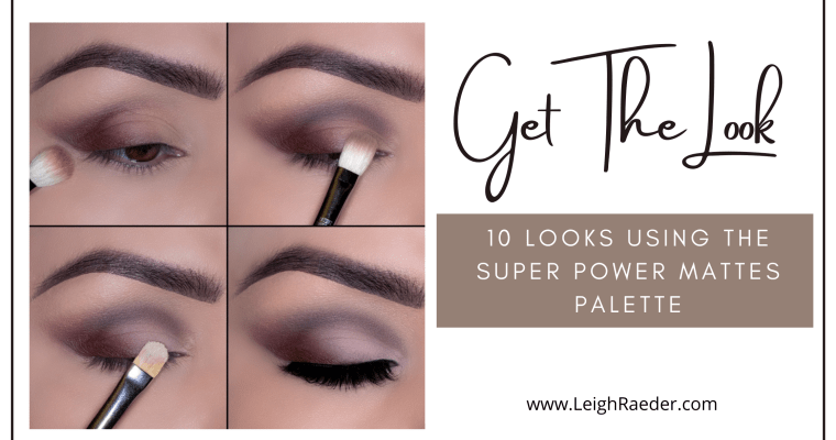 Get The Look-10 Looks using The Super Power Mattes Palette