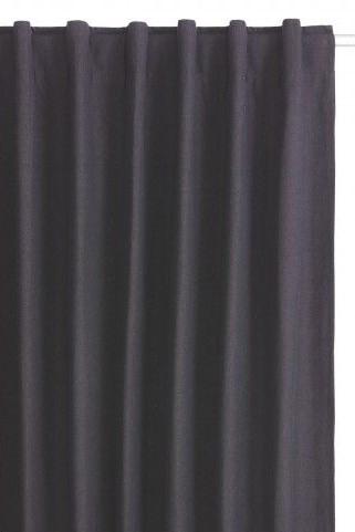 Habitat Grey Cotton Curtains