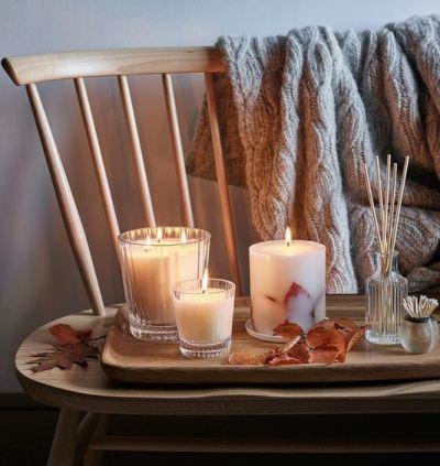 Leighton Jones Interiors - Autumn Inspiration - Image White Company Candles