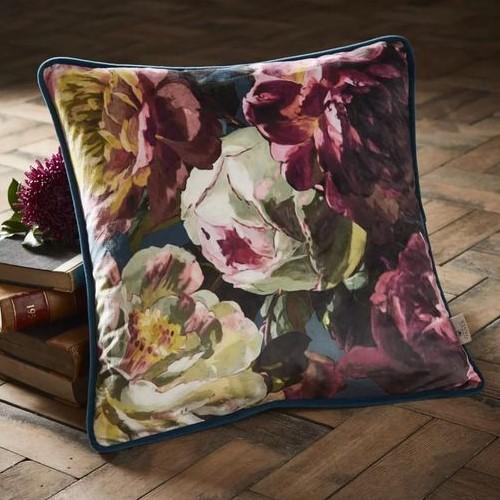 cosy autumn blog - floral cushion