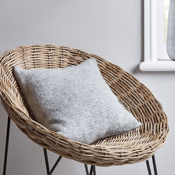 cosy autumn blog - grey cushion