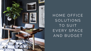 Home office image with blog title