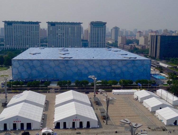 The Water Cube National Aquatics Center Beijing China