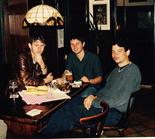Vienna restaurant October 2002