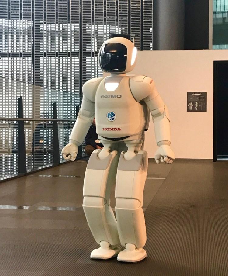 Meet ASIMO Miraikan Museum of Emerging Science and Innovation Tokyo