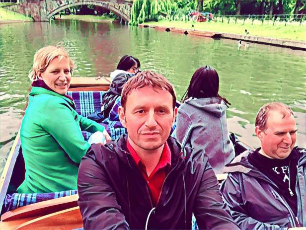 Punting on the Cambridge Backs England.