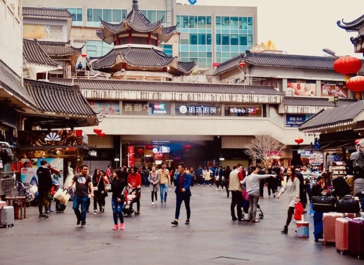 Visit Dongmen Market Shenzhen.