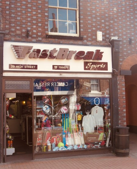 Fast Break Sports Chesham Buckinghamshire.