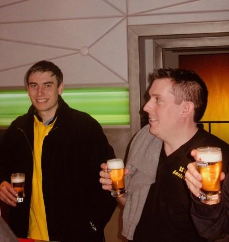 Beer tasting Heineken Experience Amsterdam.