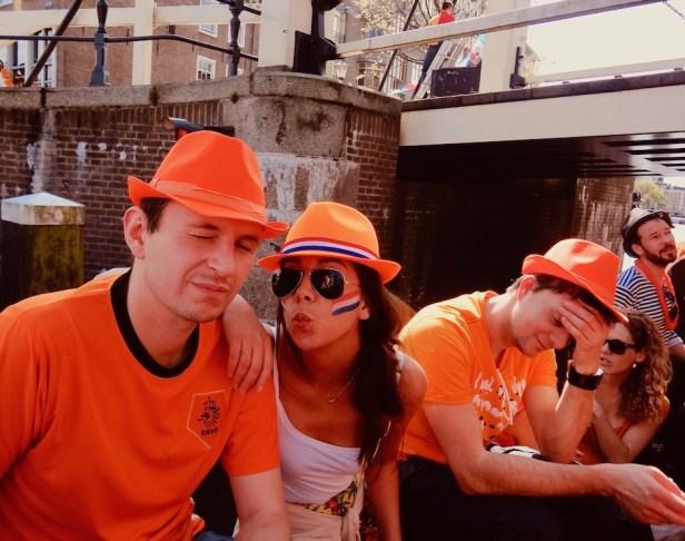 Celebrate Queen's Day Amsterdam.