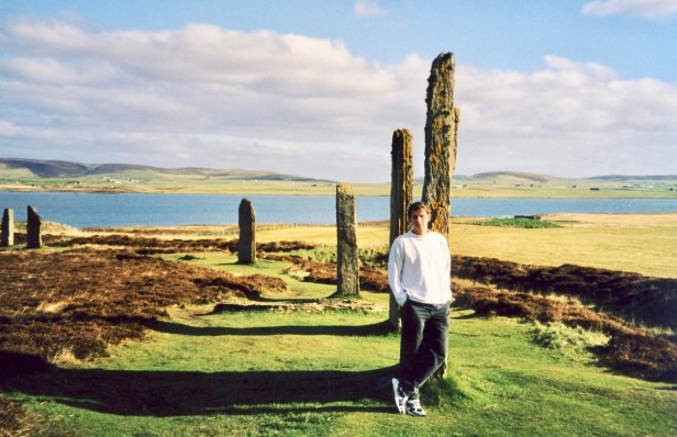 The Ring of Brodgar Orkney Scotland.